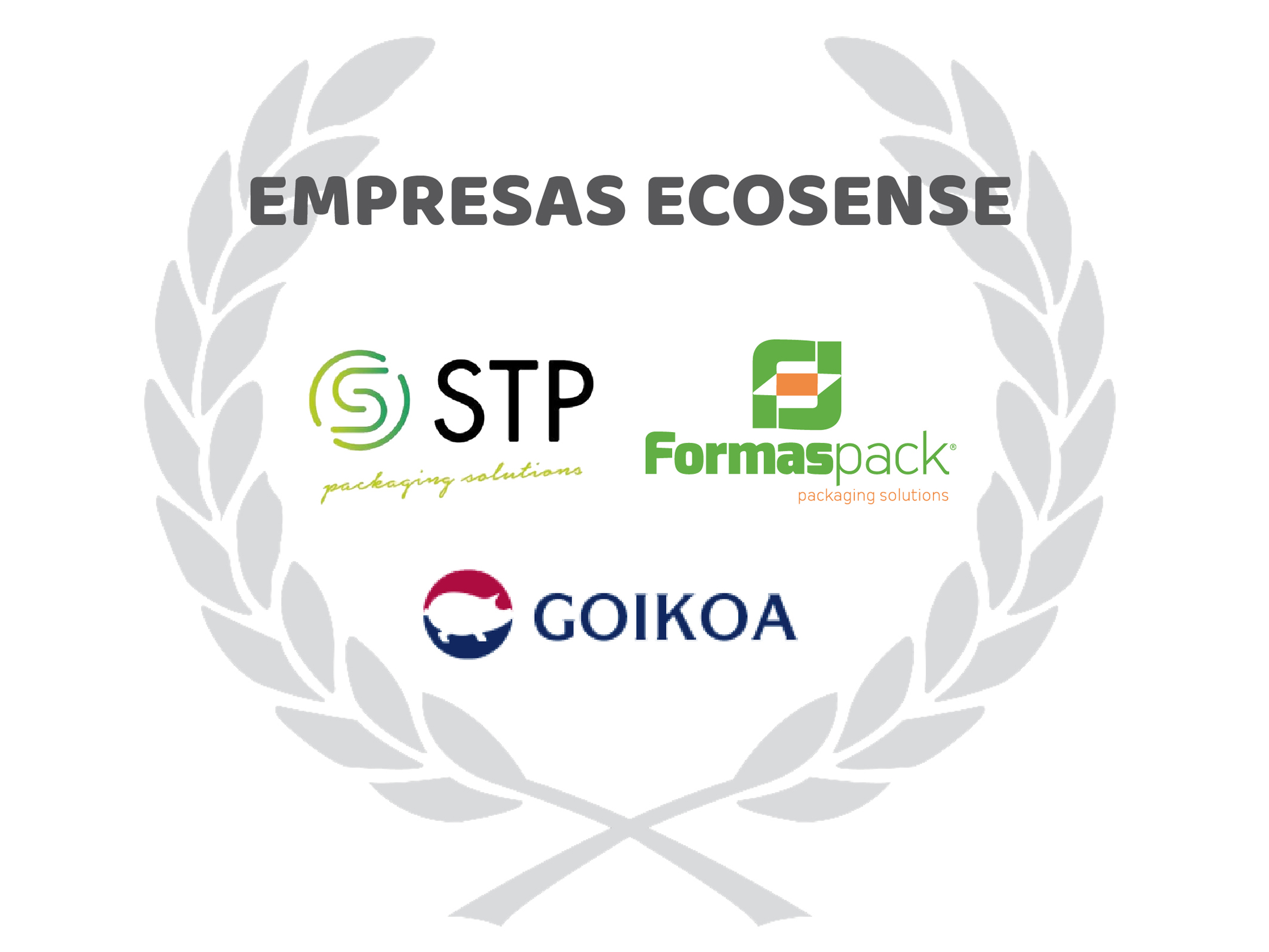 STP, FORMASPACK and GOIKOA, the new ECOSENSE companies