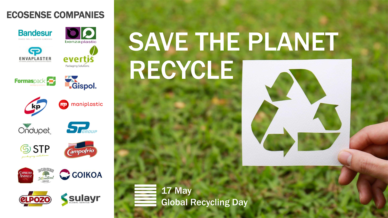 Recognition to companies in the PET tray value chain on Global Recycling Day