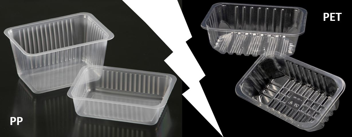PET tray vs. PP tray: what is the difference?